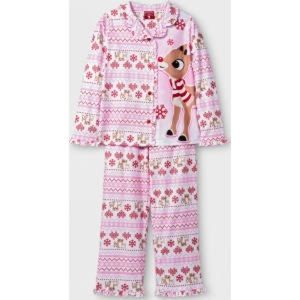 Other - Rudolph the Red Nose Reindeer Fleece 2 Pc Pajamas